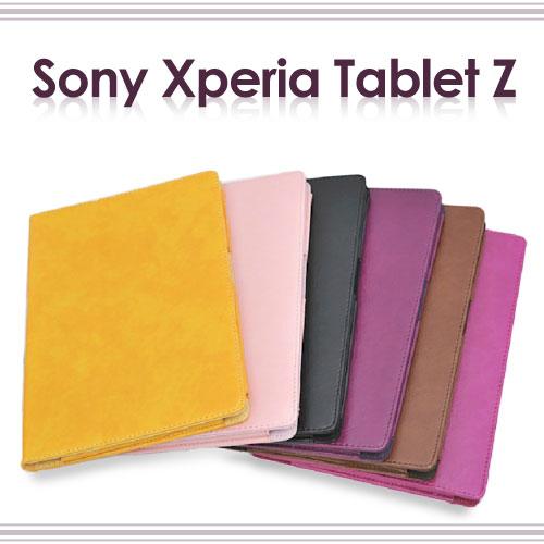 【斜立、瘋馬紋】SONY Xperia Tablet Z SPG312/SPG311/SO-03E 平板皮套/筆記本型保護套/書本式翻頁/展示~清倉拍賣