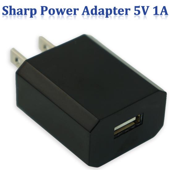 【原廠USB旅充】Sharp AQUOS PHONE SH930W/SH530U/SH630E/SH631W 交換式電源供應器/充電轉換頭 5V 1A