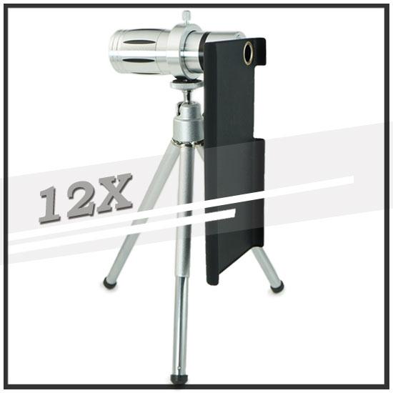 【12倍變焦‧可伸縮‧含背蓋】小米 3 Xiaomi MIUI/Mi 小米手機3 手機長鏡頭/光學變焦鏡頭/望遠鏡頭-預購商品