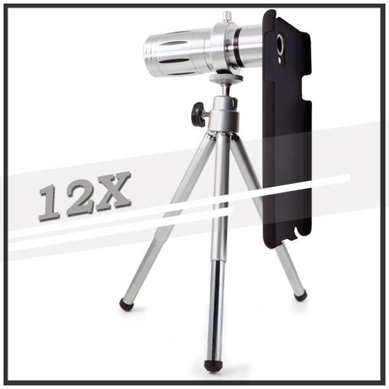 【12倍變焦‧可伸縮‧含背蓋】三星 SAMSUNG Galaxy Note 3 SM-N900 N9000 N9005 手機長鏡頭/光學變焦鏡頭/手機用
