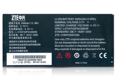 【3400mAh】台哥大 TWM myPad P1/P2/P3 遠傳 Black O 原廠電池/平板電池ZTE Li3734T42P3hC86049