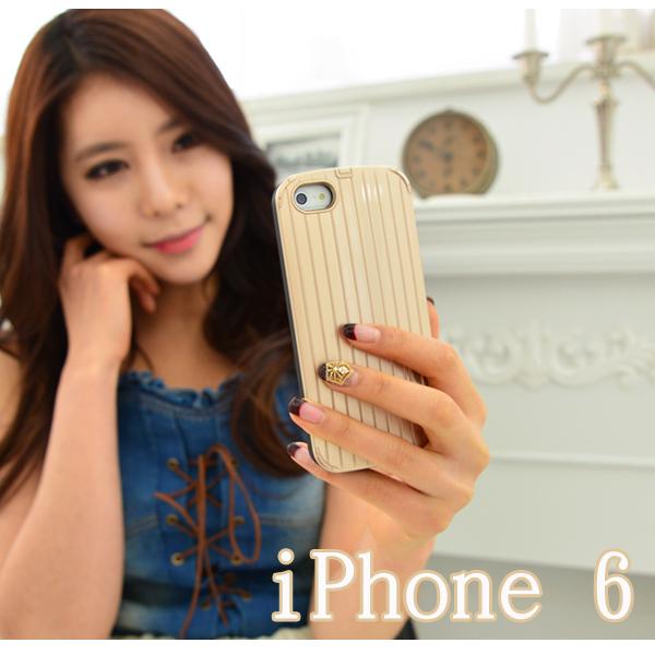 【贈保護貼】Apple iPhone 6 4.7吋 行李箱保護殼/手機保護套/保護殼/硬殼/手機殼/背蓋