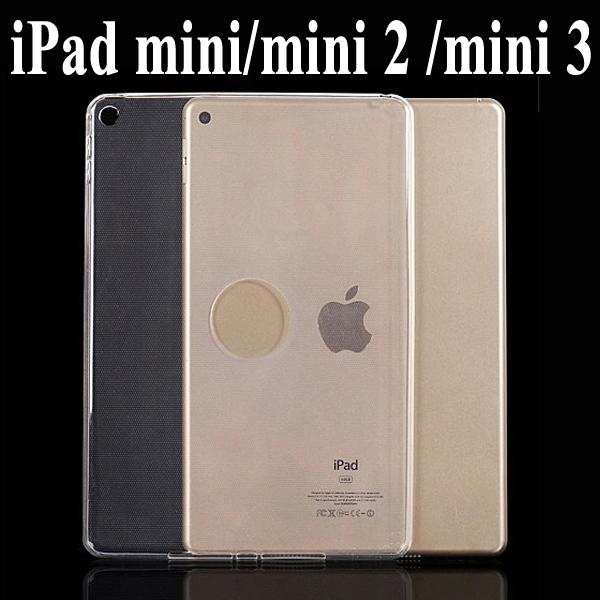 【TPU】Apple iPad mini/mini 2 Retina/mini 3 超薄超透清水套/布丁套/高清果凍保謢套/水晶套/矽膠套/軟殼