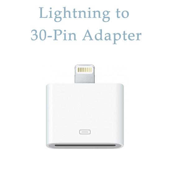 【傳輸充電轉換器】Apple iPad 4/Air/5/iPhone 5/5S/5C/iPad mini 30Pin(母) 轉Lightning 8pin(公) Adapter