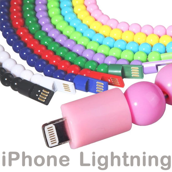 【佛珠充電傳輸線、Lightning】Apple iPhone 6/6 Plus/5/5S/5C/SE/iPad mini/mini 2/Air/iPad 4/5/Nano 7/touch 5