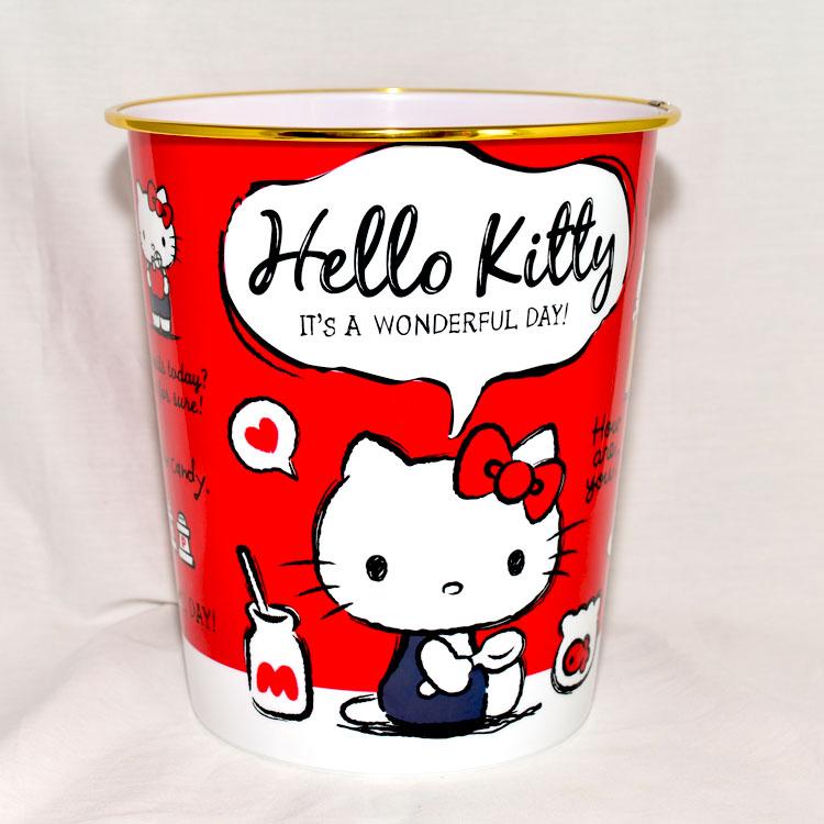 Hello Kitty 置物桶 垃圾桶 日本帶回正版品