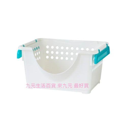 【九元生活百貨】聯府 P5-0707 1號微笑重疊籃 P50707