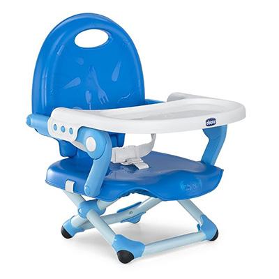 【悅兒園婦幼生活館】Chicco Pocket Snack攜帶式輕巧餐椅座墊(鯨魚藍)