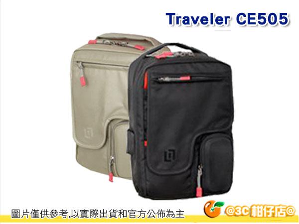 美國 CLIK ELITE 戶外攝影 旅行者Traveler單肩攝影側背包 CE505 黑/灰 勝興公司貨
