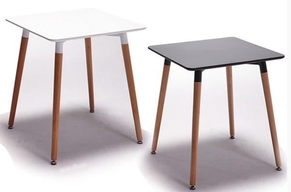 《Chair Empire》80方EAMES餐桌DSW伊姆斯餐桌休閒圓桌小圓桌時尚圓桌 復刻版 白/黑