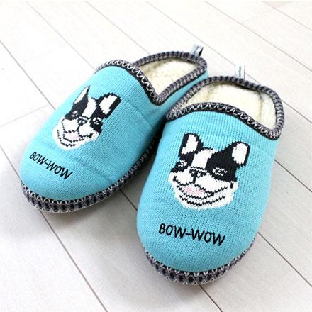 裕子的店。給腳一個暖暖的家。手工毛線編織動物系列絨毛舒適日式加厚款室內拖鞋  【jp1220-243】