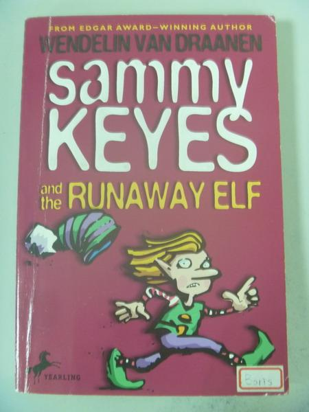 【書寶二手書T3/原文小說_IRH】Sammy Keyes and the Runaway Elf_Van Draane