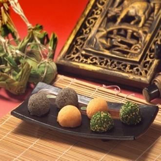 【一米特】客家麻糬[下午茶必備]地方特產/花生、芝麻、擂茶
