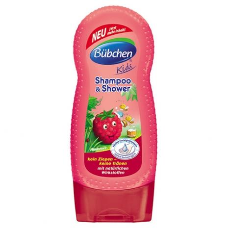 德國【Baan 貝恩】Bübchen  覆盆子洗髮沐浴乳