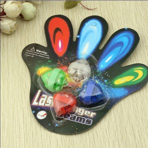 BO雜貨【SV9524】手指燈發光 超炫 LED手指燈 戒指燈 夜店PA 演唱會 春吶 PUB生日舞會 附電池