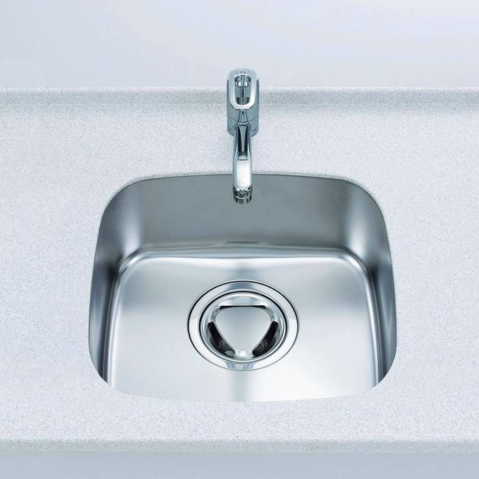 【預購款】日本廚房用水材-機能型不鏽鋼靜音F水槽【SF4542】