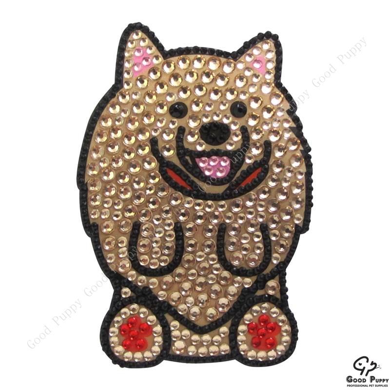 加拿大進口狗狗寵物水鑽貼紙-博美92963 Pomeranian* 手機/平板/電腦/iPad/iPhone/小禮物/贈品