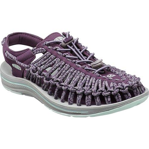 ├登山樂┤美國KEEN UNEEK ROCK 女款編織涼鞋 紫紅/灰 #1014983