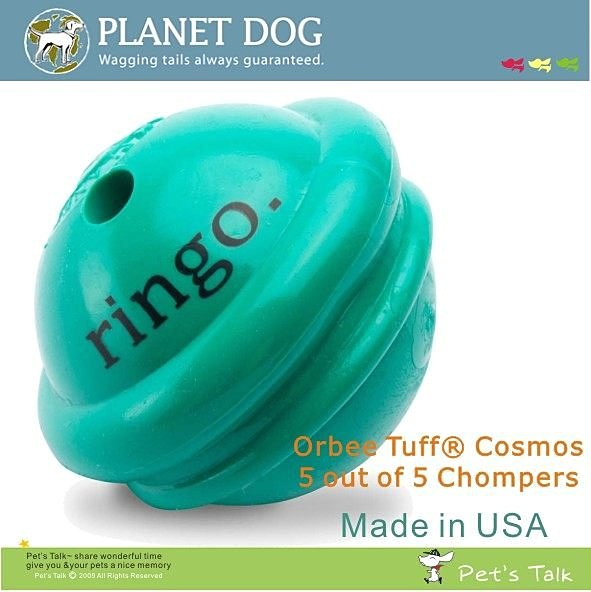 美國Planet Dog星際系列拋擲球-Ringo Pet'sTalk