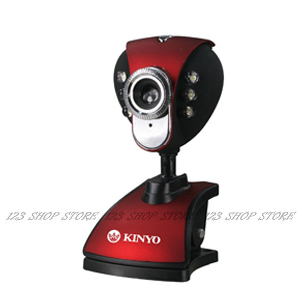 網路攝影機 PCM-515 PC攝影機 內建麥克風 可調式LED燈 即插即用【GU4XX】◎123便利屋◎