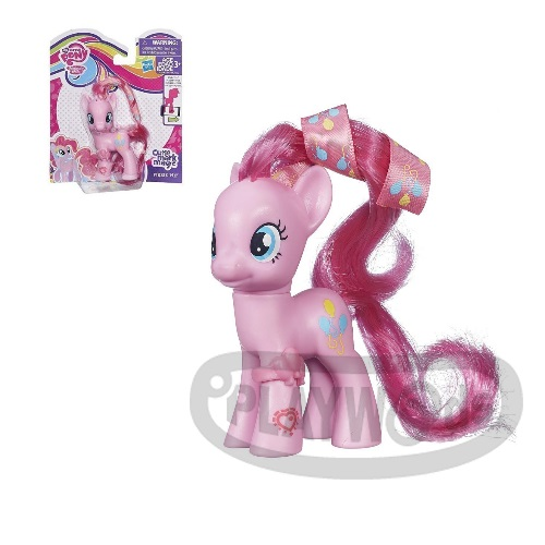 【Playwoods】[彩虹小馬My Little Pony] 第五季基本小馬組-碧琪Pinkie Pie(可搭配APP遊戲/友情就是魔法/可愛標誌魔法/MLP/水晶王國/小馬寶莉/我的小馬駒/Friendship Celebration/孩之寶Hasbro)
