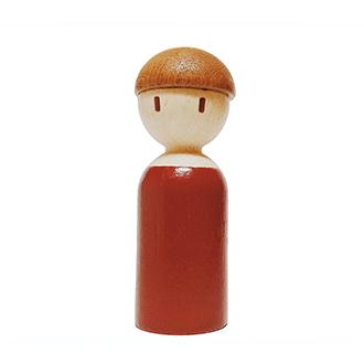 木爸爸積木/設計創意 原木兒童生日禮物 非樂高玩具