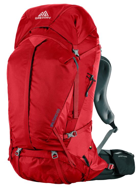【鄉野情戶外用品店】 Gregory  美國   Baltoro 65 登山背包《男款》/重裝背包 自助旅行背包-火紅M/65783 【容量65L】