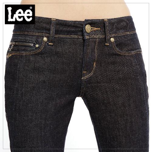 【Super Sales 褲款下殺↘1.5折】LEE Liz 458 緊身靴型牛仔褲 -女款(原色藍)