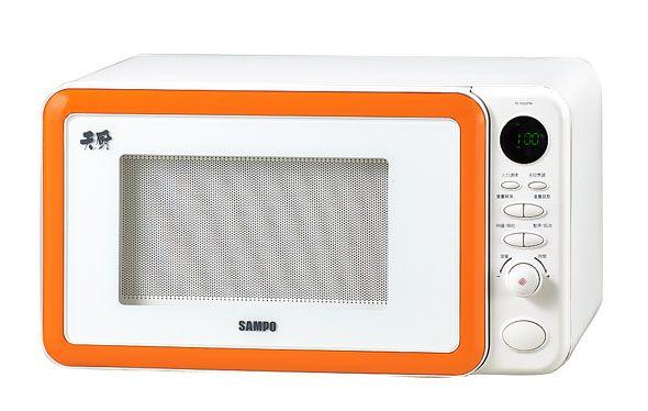 SAMPO 聲寶 REN323PM / RE-N323PM 23L微電腦平台式微波爐