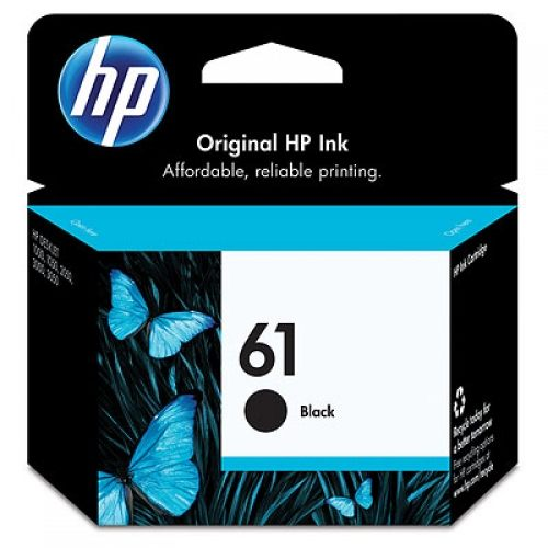 HP 惠普 黑色墨水匣 No.61 CH561WA