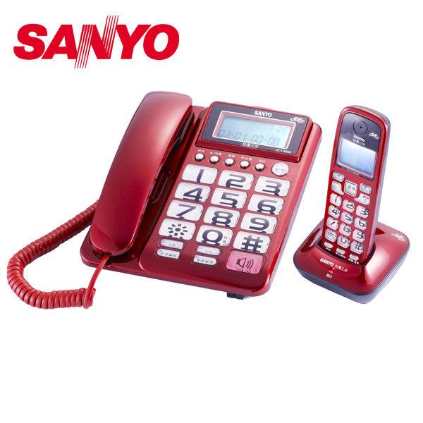 SANYO 三洋 DCT-8908 數位式2.4GHz子母機