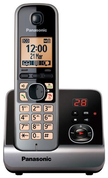Panasonic 國際牌 KX-TG6721 中文顯示數位無線答錄電話機