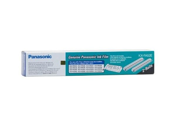 Panasonic 國際 KX-FP207 轉寫帶 KX-FA52E 兩入