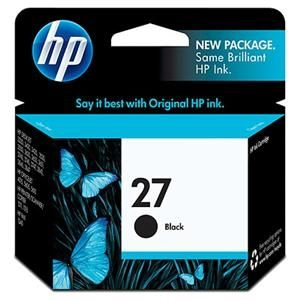 HP 惠普 C8727AA 黑色墨水匣