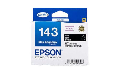 EPSON 愛普生 T143150 黑色墨水匣