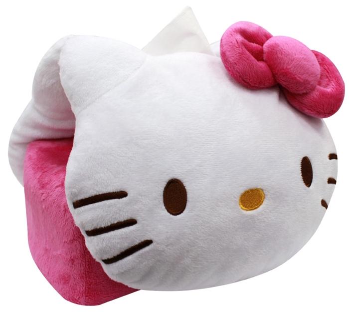 Hello Kitty 兩用型車用面紙套,車椅套