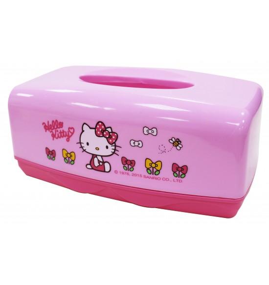 Hello Kitty 塑膠面紙盒
