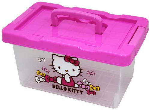 Hello Kitty 手提小整理箱