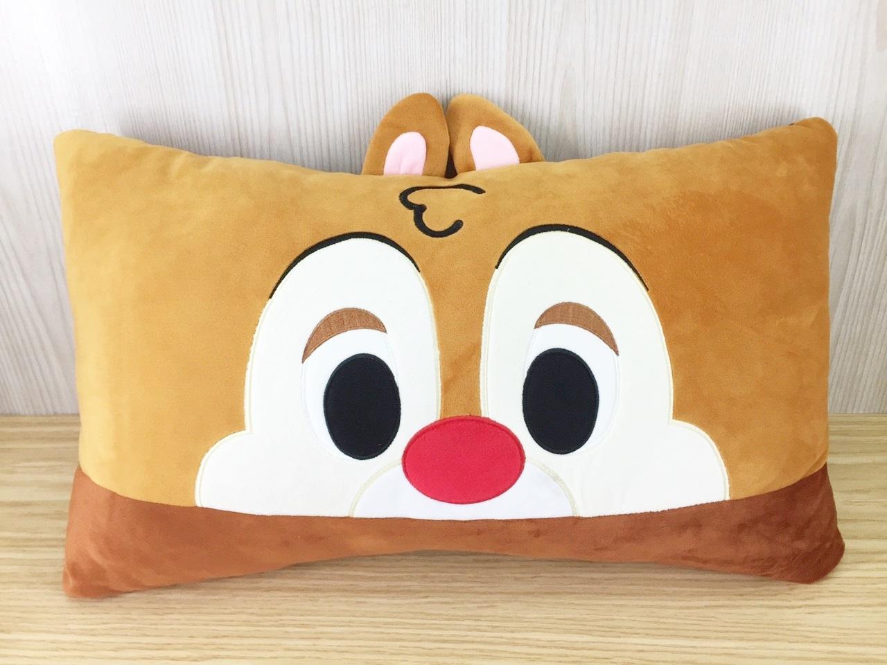 【真愛日本】15121700024 大臉雙人枕-蒂蒂 奇奇蒂蒂 迪士尼 花栗鼠 抱枕 靠枕 娃娃 枕頭 生活用品