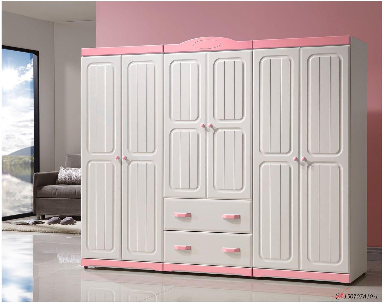 【石川家居】OU-607-1(P02) 泰勒絲2.5尺雙門衣櫥 (不含其他商品) 需搭配車趟