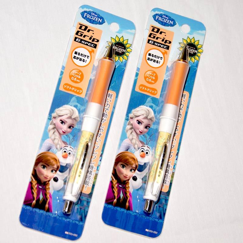 冰雪奇緣 FROZEN 平衡自動鉛筆 0.5mm 輕鬆寫字不費力 日本製