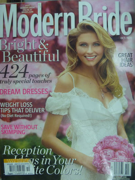 【書寶二手書T8/雜誌期刊_XAR】Modern bride_Dream Dresses等_2007/10~11月