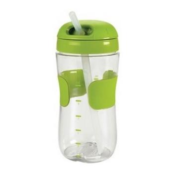 《★美國OXO》Straw Cup 11安士吸管杯 330ml-綠色 美國代購 溫媽媽