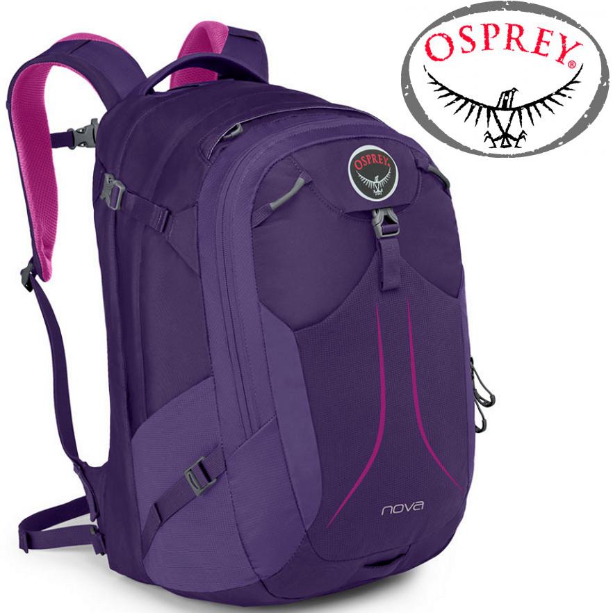 Osprey Nova 33 日用系列後背包/電腦包 登山背包/健行背包 蝴蝶紫/台北山水