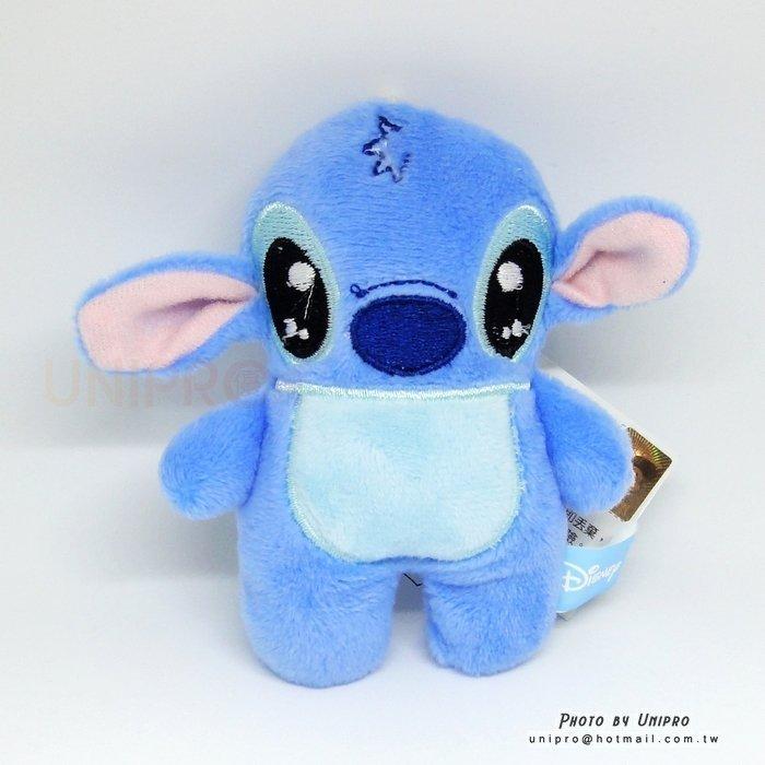 【UNIPRO】迪士尼正版 史迪奇 STITCH 扁扁 方方 絨毛玩偶 娃娃 吊飾 星際寶貝