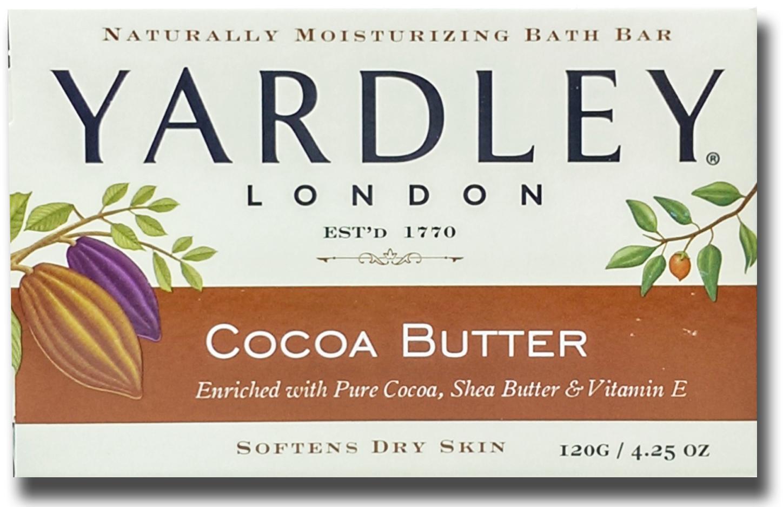 美國進口 Yardley London 可可亞油香皂120g