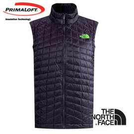 The North Face 男 PrimaLoft ? ThermoBall? 保暖背心 深茄紫 C940