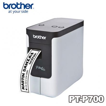 ★杰米家電☆Brother PT-P700 簡易型 高速 財產標籤 條碼列印機