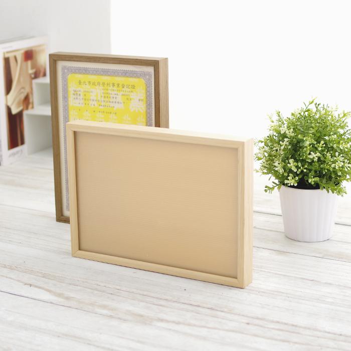 證照框 A4框 原木相框 裱框 畫框 【SV5651】快樂生活網