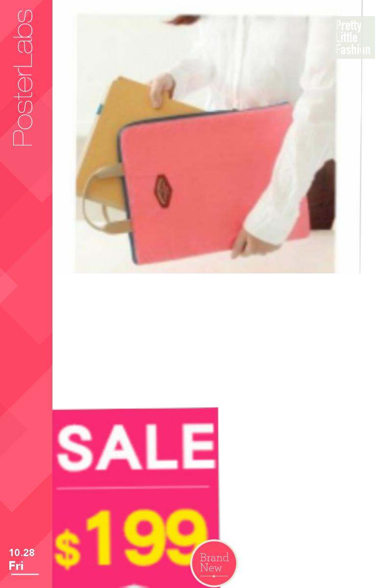 iconic 文件收納包(淺粉橘色) 公文包 iPad包Basic Pouch A4